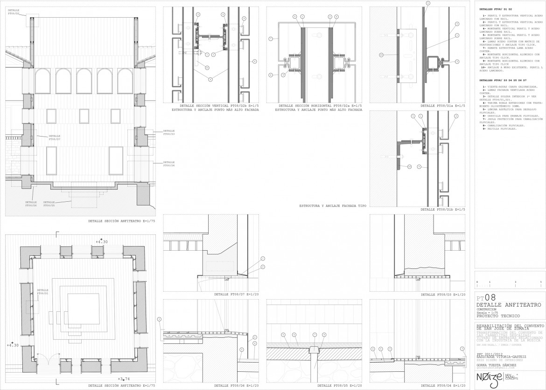 Detalle claustro