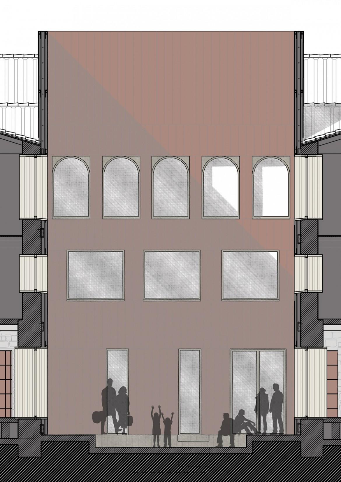 Sección claustro