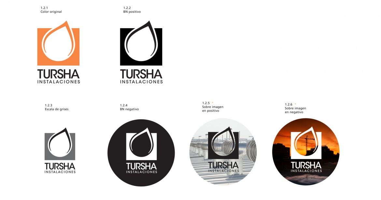 Versatilidad del logotipo