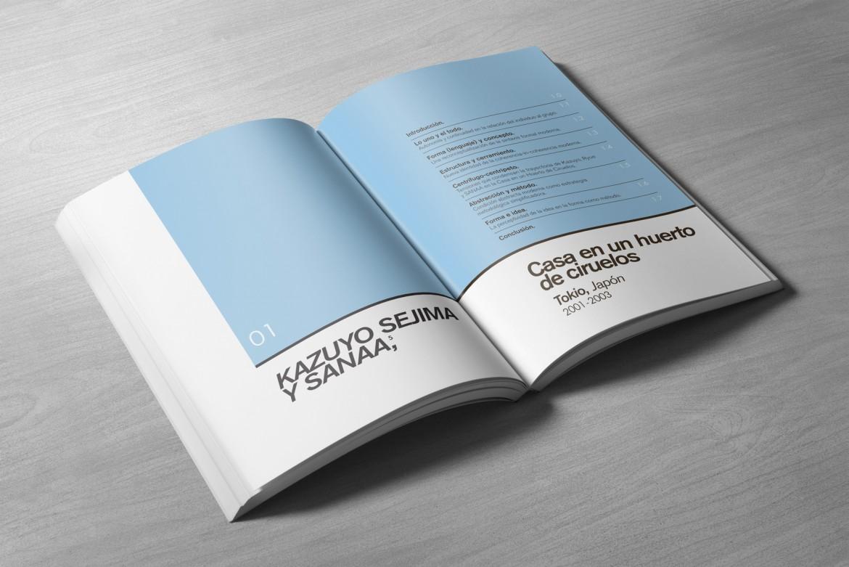 Maquetación portada de capítulos